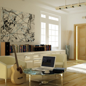 Suite guitar Vray