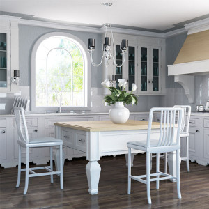 White  Kitchen Vray